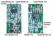 Laser Diode Driver Board 20-300mA, TTL Control adjustable current