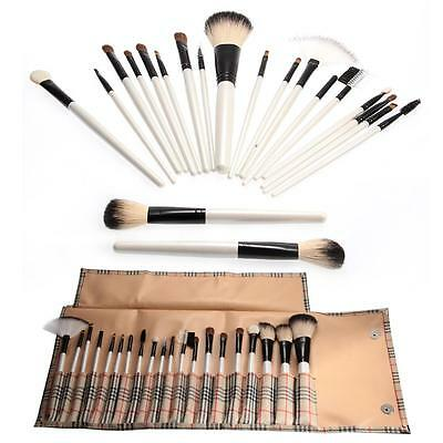 20pcs superior Professional Soft Cosmetic Makeup Brush Set+ Pouch Bag Case