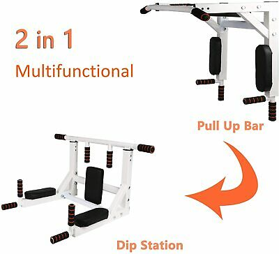 Vilobos Power Tower Multi-Functional Pull Up Bar Dip Station Push Up Workout Exercise Equipment Height Adjustable Heavy Duty Strength Training Stand for Home Gym 330 LBS Capacity
