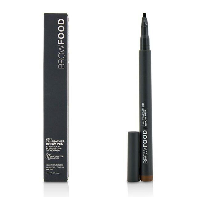 LashFood BrowFood 24H Tri Feather Brow Pen - Dark Brunette 1ml Make Up
