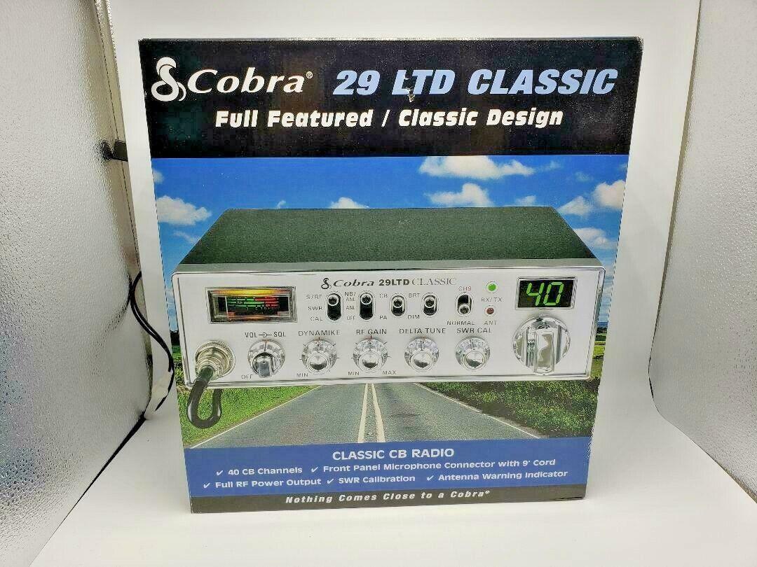 COBRA 29 LTD CLASSIC CB RADIO PEAKED, TUNED, TALKBACK, TURBO ECHO UPGRADES. Buy it now for 209.99
