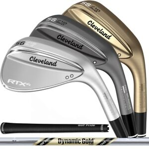 NEW-2019-Cleveland-RTX-4-Wedge-Choose-Your-Loft-Color-and-Bounce-RTX4