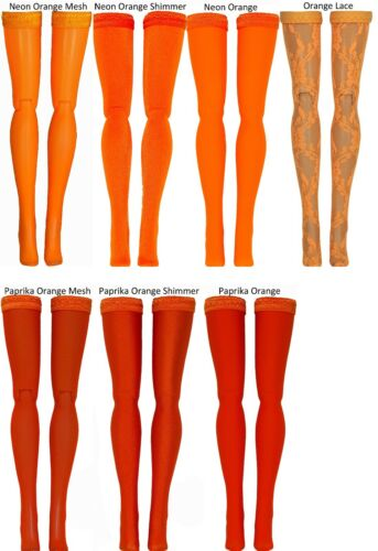 Middie Chubby Azone Pure Neemo Orange Doll Stockings for Blythe