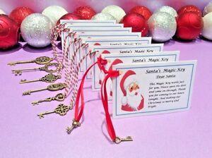 Santa-039-s-Magic-Key-Nochebuena-Caja-Navidad-traddition-no-chimenea