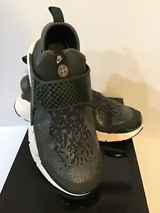 pretty nice 38d60 9a37b Details about Nike Mens Nike x Stone Island Sock Dart Mid Sequoia LT  Orewood 910090 300 Size 7