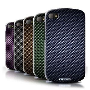 Coque-Etui-Housse-de-Stuff4-pour-Blackberry-Q10-Motif-de-Fibre-de-Carbone