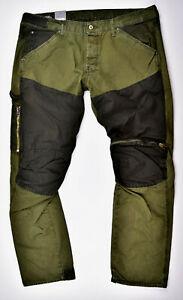 G-STAR-RAW-Elwood-5620-Workwear-3D-Zip-Straight-CB-W40-L34-Outdoor-Jeans