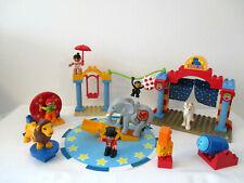 Drehscheibe Clown Zirkus Lego Duplo großes Zirkusrad 8-teilig aus 5593