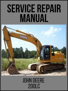 John-Deere-200LC-Excavator-Operation-and-Test-Service-Tech-Manual-TM1663-USB