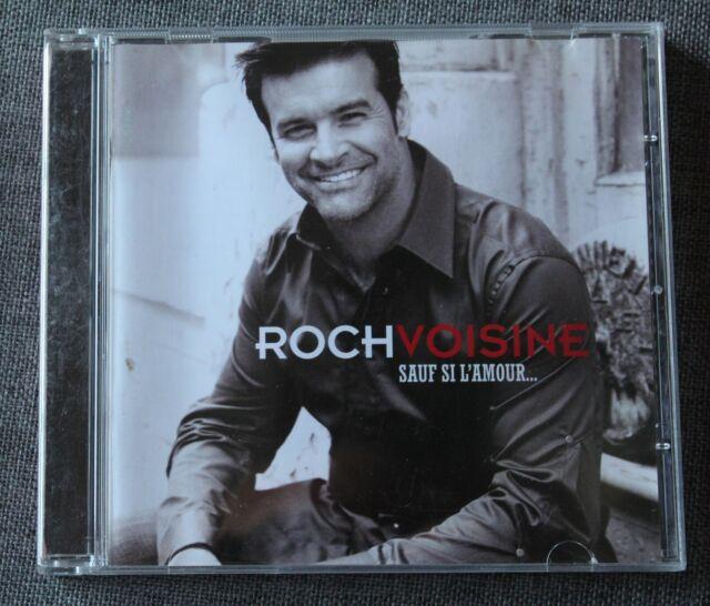 Roch Voisine, sauf si l'amour, CD