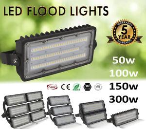 50W-100W-150W-LED-Flood-Light-Commercial-Industrial-Lights-240V-High-Low-Bay