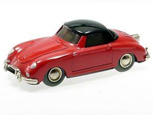 Schuco-Micro-Racer-Porsche-356-rot-schwarzes-Dach-102A