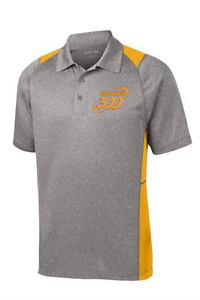 Columbia 300 Men's Action Performance Polo Bowling Shirt Dri-Fit gold