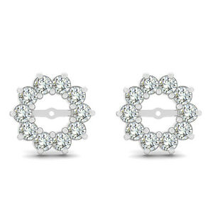 Image Is Loading 0 60 Carat G H Round Diamond Solitaire Stud