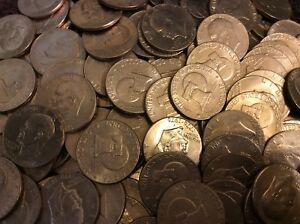 IKE FREE COIN TUBES 100  bicentennial TYPE 1 EISENHOWER $$'s circulated.