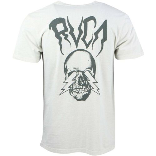 RVCA Men Bolt Vision Tee gray slate