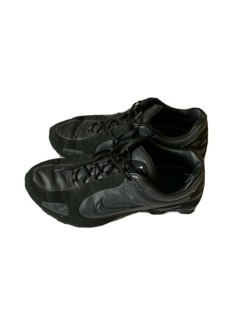 Nike shox mens size 15 Black With black Suede
