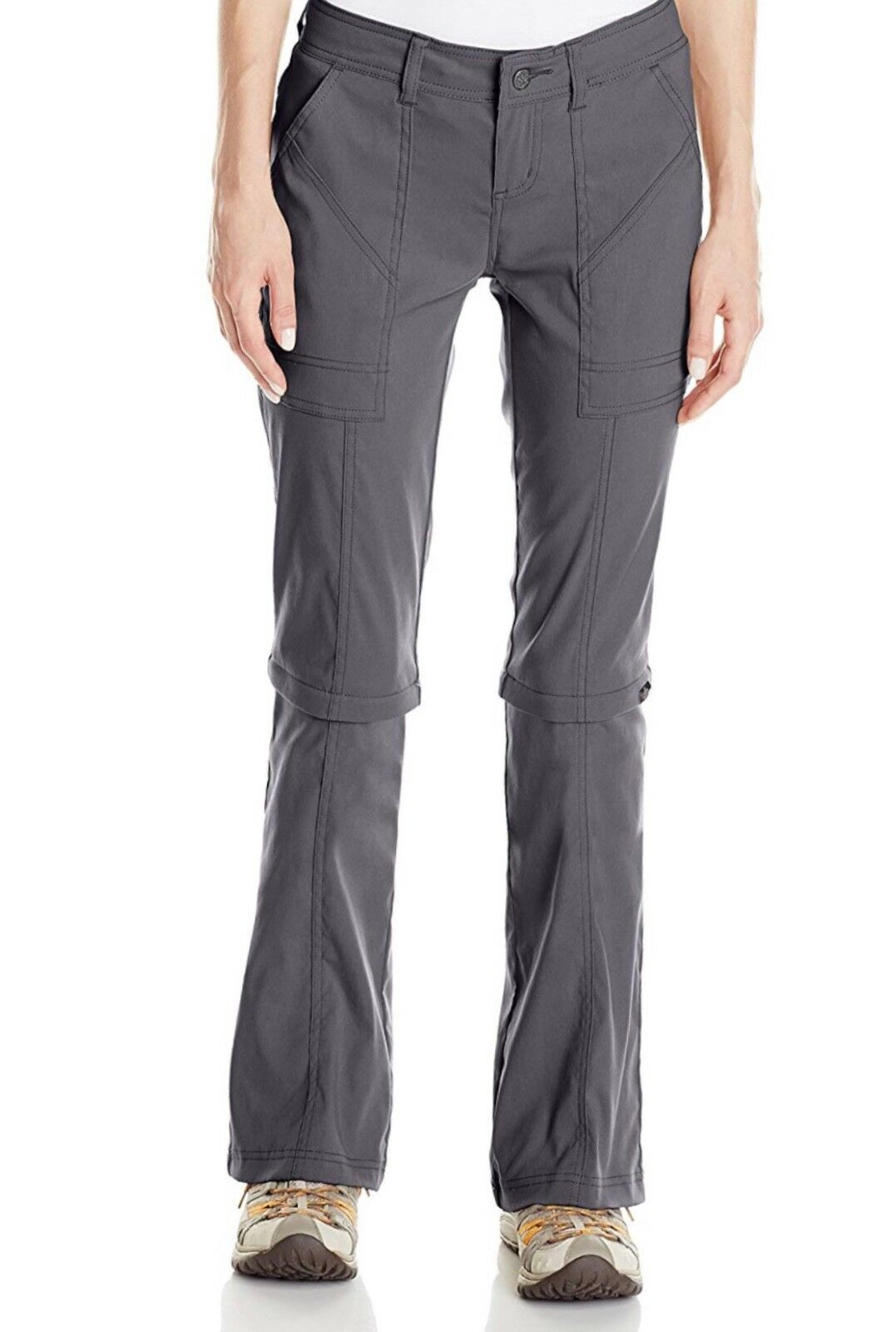 PrAna Women's Monarch Congreenible Pant - Size 10 (Regular) -Coal - Brand New
