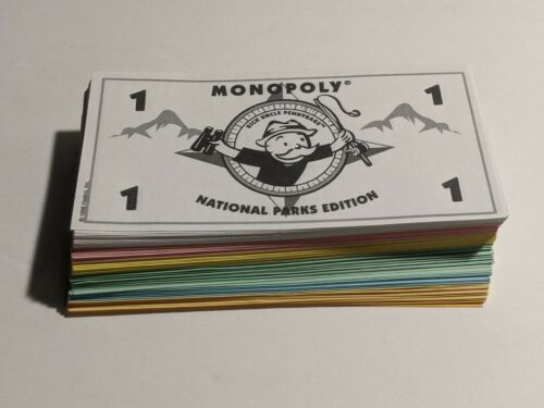 MONOPOLY National Parks Edition Game Replacement Parts Board Game Pieces!