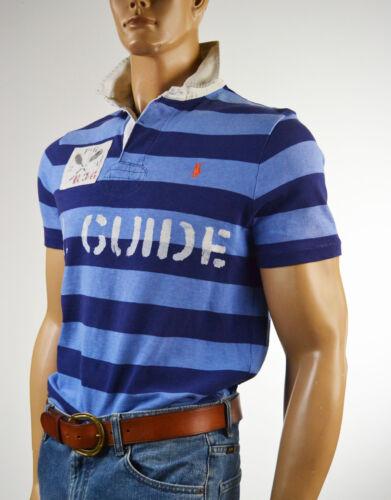 NWT $145 Ralph Lauren Nautical Blue /& Navy Striped Rugby//Kaya-K-Exp 368