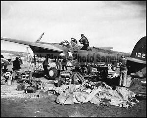 WW2-USAAF-P-38-Lightning-Aleutian-Islands-1943-8x10-Aircraft-Photos