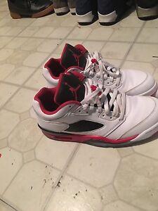 new product 0685c edf77 Image is loading Nike-Air-Jordan-V-5-Retro-Low-FIRE-