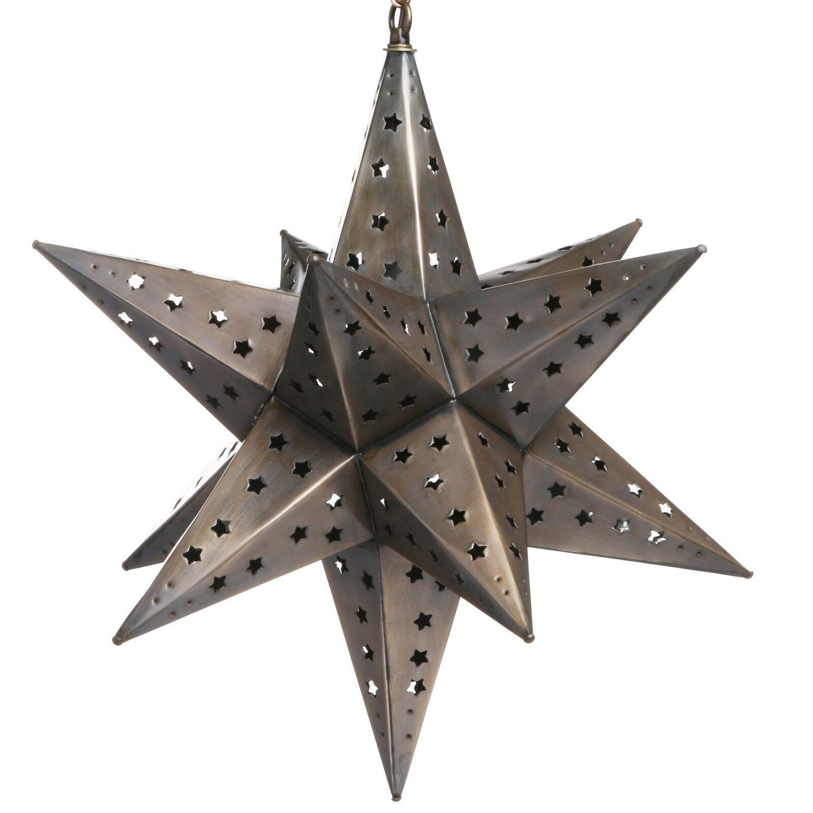 Estrella de hojalata luz pendiente-Star Corte