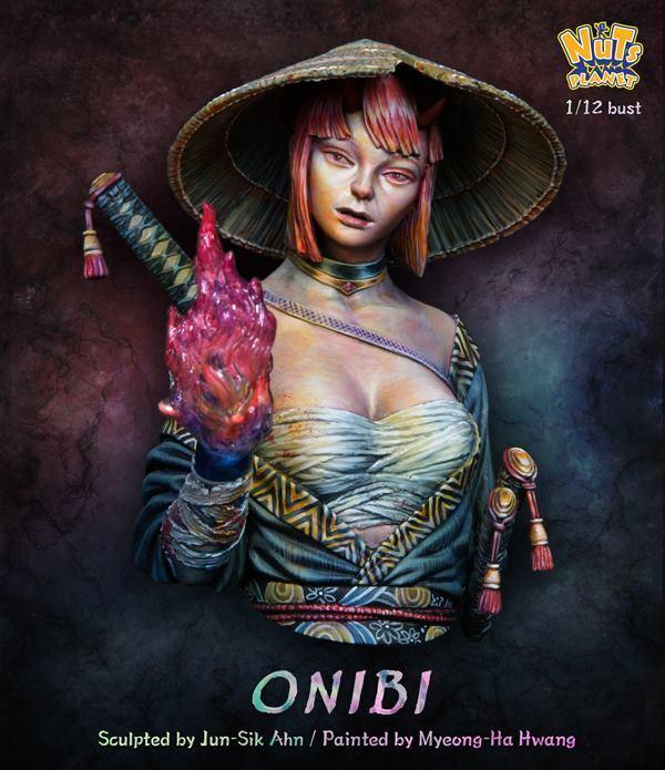 Nutsplanet Onibi Unpainted 1 12th scale bust kit