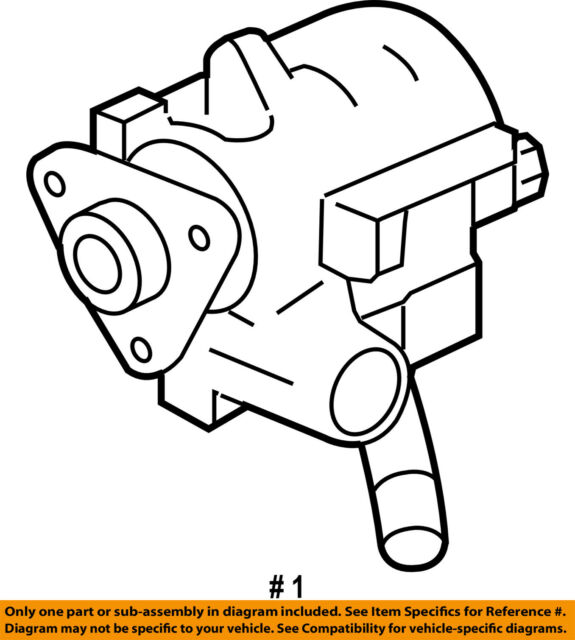 Ford Oem Power Steering Pump Ar3z3a674arm Image 1 For Sale Online