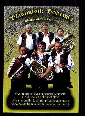 Blasmusik Bohemia Autogrammkarte Original Signiert ## Bc 72607 Hohe QualitäT Und Preiswert National
