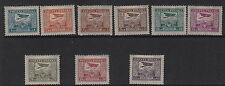 POLAND :1925 Air definitives  set SG 252-60 mint