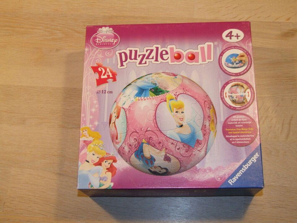 Puzzleball, 3D puslekugle, puslespil