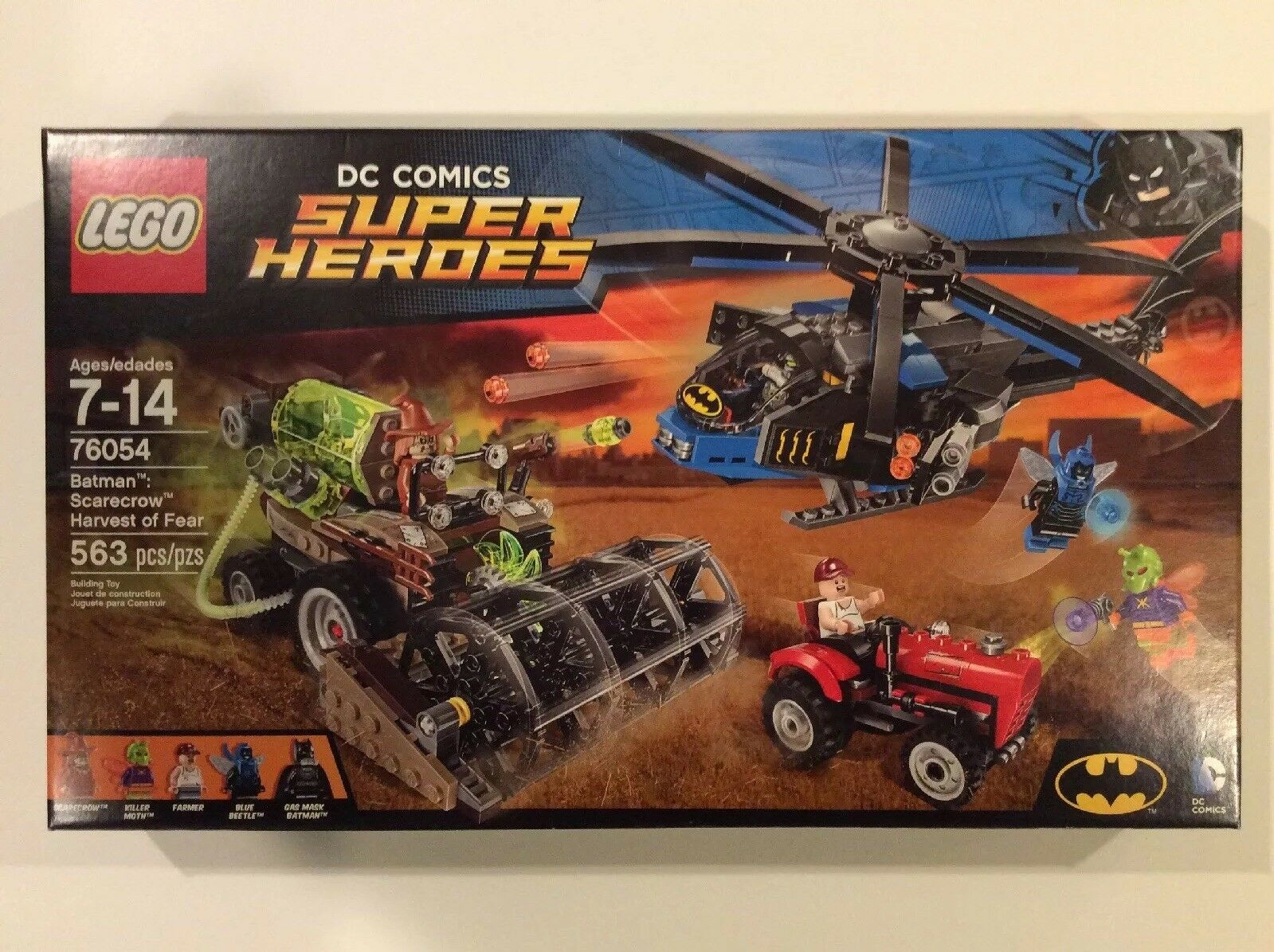 Lego Batman Scarecrow Harvest Of Fear NRFB