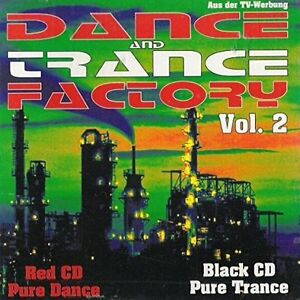 Dance-and-transe-Factory-2-maxis-1995-three-O-Matic-Dance-2-tranc-double-CD
