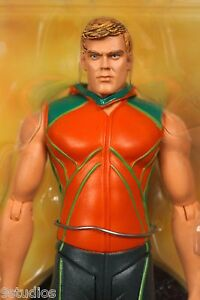 Smallville Nouvelle figurine d'action Aquaman Cw Dc Direct Ligue des Juges Justice scellée