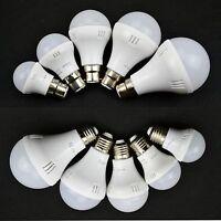 Led E27 B22 3/5/7/9/12 w SMD Bulb Globe Light Lamp Cool/Warm White Energy Saving