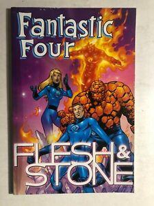 FANTASTIC FOUR Flesh & Stone (2001) Marvel Comics TPB 1st FINE-