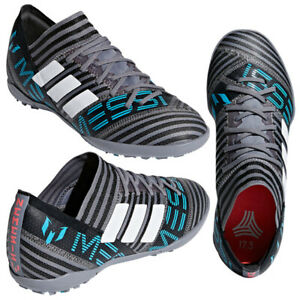 Adidas-Nemeziz-Messi-Tango-17-3-Turf-J-Shoes-Boys-Youth-Gray-CP9200-Soccer-12-5