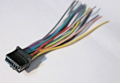 pioneer deh 27 wire wiring harness new b ebay. Black Bedroom Furniture Sets. Home Design Ideas