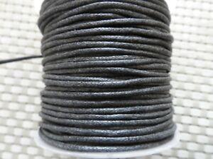 Cordon-coton-cire-perles-confection-bijoux-de-1-5-a-2-5-mm-corde-fils-par-5-metr