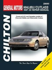1997-2000 Malibu//Cutlass Chilton Repair Service Workshop Manual Book Guide 3202