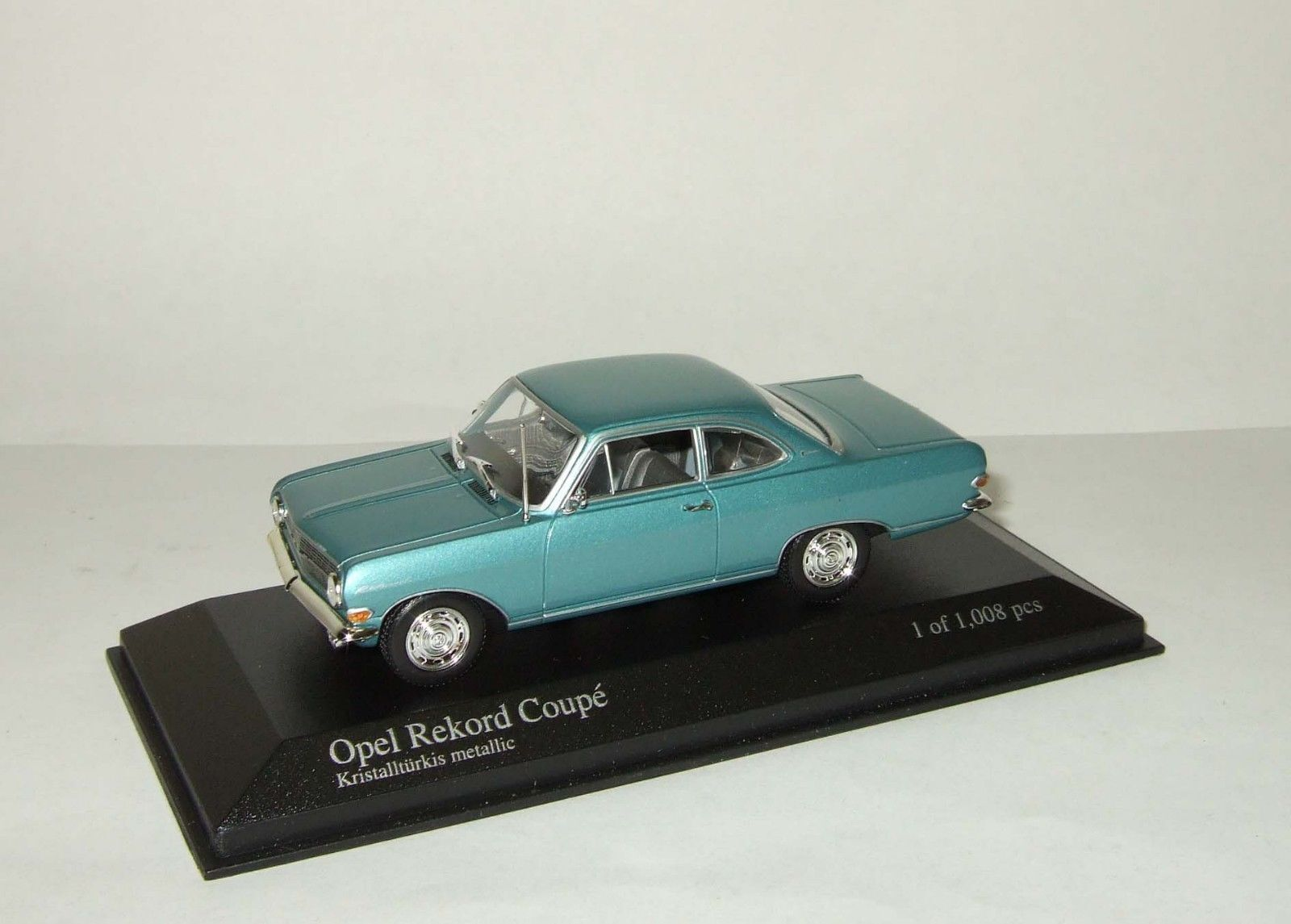 1 43 Minichamps OPEL REKORD COUPE 1960