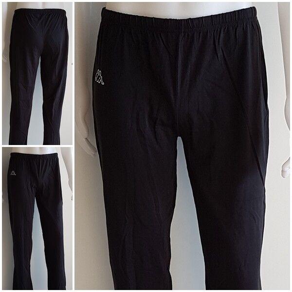 Kappa Damen Jogging Hose Pant Training Sport Fitness Freizeit Casual schwarz XL