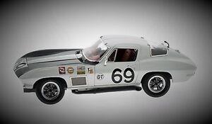 1-1967-Vette-Corvette-Racer-Chevy-Sport-18-Race-Car-Vintage-24-Carousel-White-12