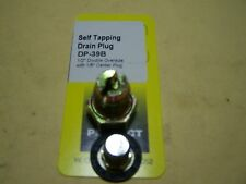 """OIL PAN DRAIN PLUG - SELF-TAPPING - 1/2"""" DOUBLE OVERSIZE"""
