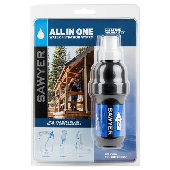 Sawyer Products PointOne Squeeze Water Filter System All-In-One.. Free Shipping
