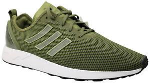 Details zu Adidas Originals ZX Flux ADV Herren Sneaker Turnschuhe olive AQ2680 Gr. 47 NEU