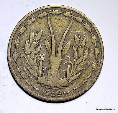 STATES OF AFRICA OF WEST 10 francs 1959 SUP ACA939