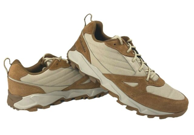 Columbia Mens Ivo Trail Lace Up Hiking Trail Winter Shoes Size 10.5 Light Brown
