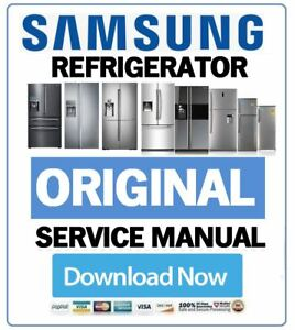 Details about Samsung Refrigerator Service Manual and Repair Guide &  Troubleshooting